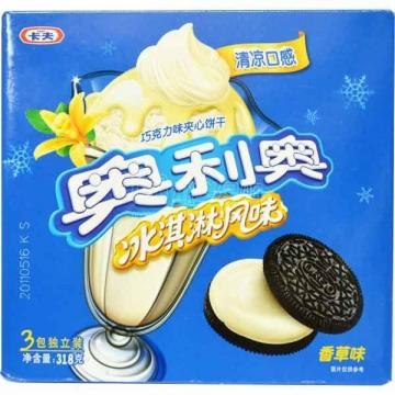 奥利奥冰淇淋香草味夹心饼干