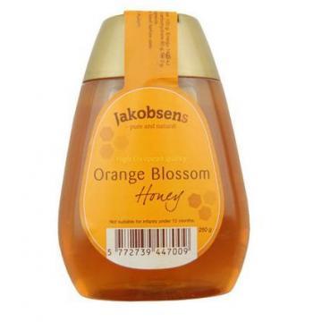 雅各布森 橙花蜂蜜250g 丹麦进口